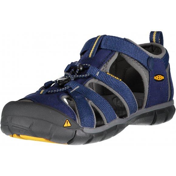 Dětské sandály KEEN SEACAMP II CNX JR BLUE DEPTHS/GARGOYLE