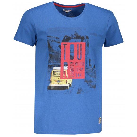 Pánské triko ICEPEAK MARIO 57768514 BLUE