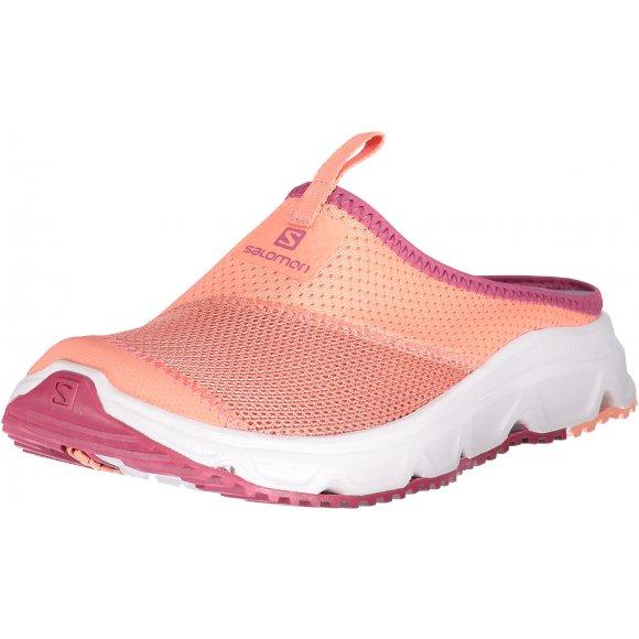 Dámské pantofle SALOMON RX SLIDE 4.0 W L40673500 DESERT FLOWER/WHITE/MALAGA
