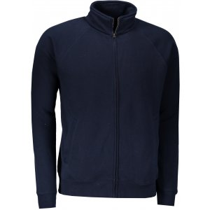 Pánská mikina FRUIT OF THE LOOM PREMIUM SWEAT JACKET DEEP NAVY