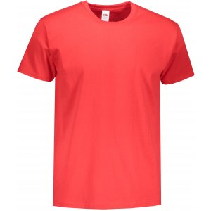 Pánské triko FRUIT OF THE LOOM VALUEWEIGHT T RED