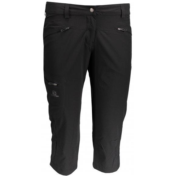Dámské 3/4 kalhoty SALOMON WAYFARER CAPRI W L39299300 BLACK