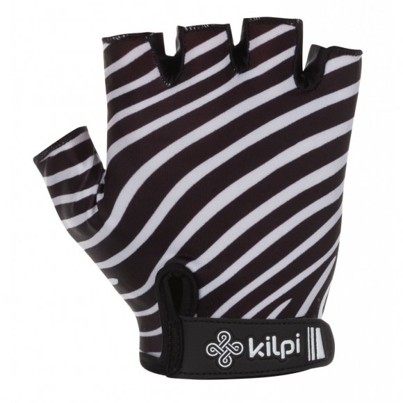 Dámské cyklistické rukavice KILPI SAVAGE-W KL0049KI ČERNÁ