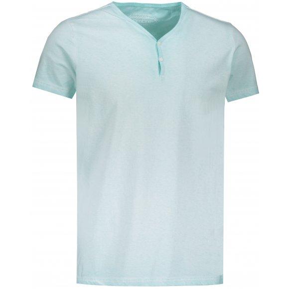 Pánské triko OMBRE AS894 MINT