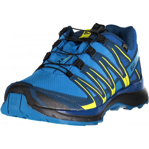 Pánské sportovní boty SALOMON XA LITE GTX L40071300 INDIGO BUNTING/SNORKEL BLUE/SULPHUR