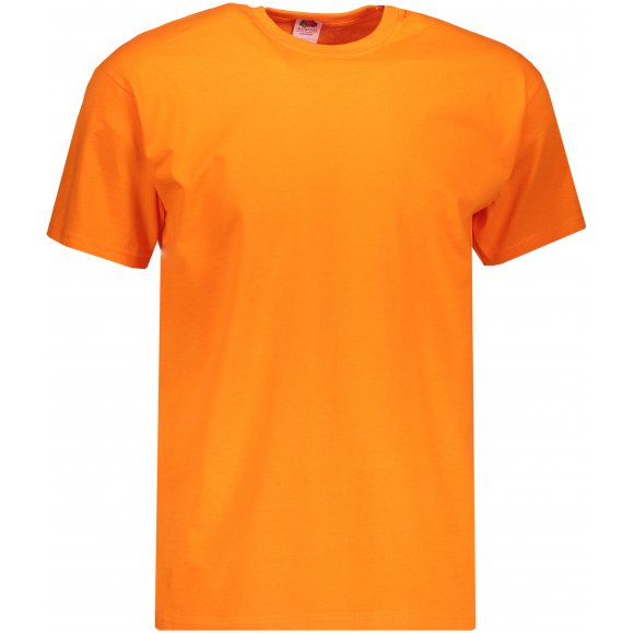 Pánské triko FRUIT OF THE LOOM VALUEWEIGHT T ORANGE