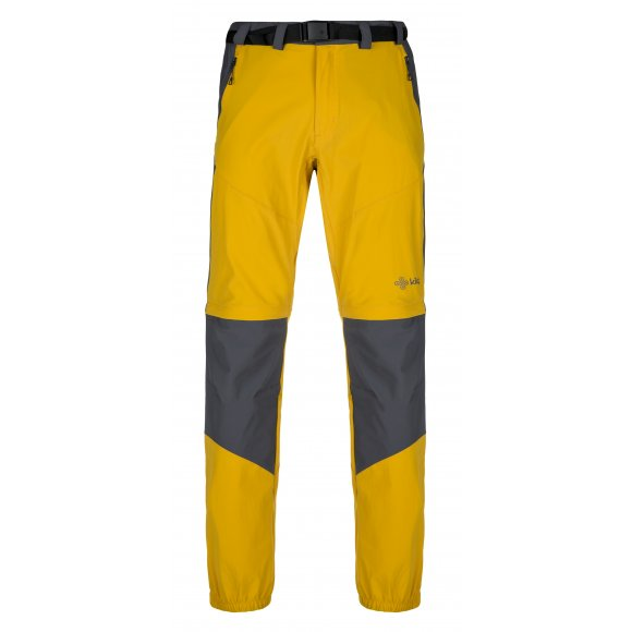 Pánské kalhoty/kraťasy KILPI HOSIO-M KM0082KI ŽLUTÁ