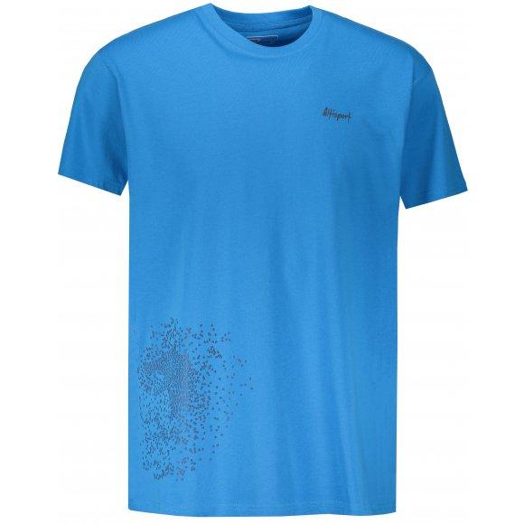 Pánské triko s krátkým rukávem ALTISPORT KAVET MODRÁ