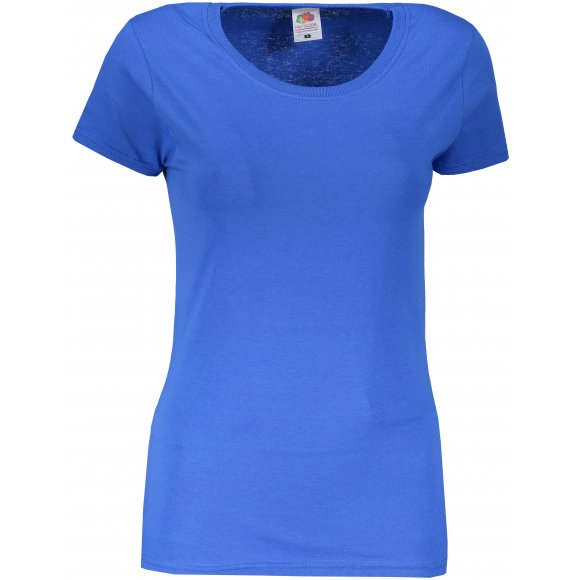 Dámské tričko FRUIT OF THE LOOM LADY FIT ROYAL BLUE