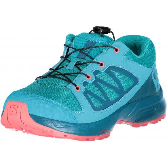 Dětské běžecké boty SALOMON XA ELEVATE J L40480700 BLUEBIRD/DEEP LAGOON/DUBARRY