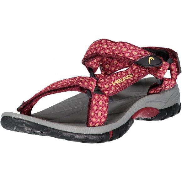 Dámské sandále HEAD HY2122503 ČERVENÁ