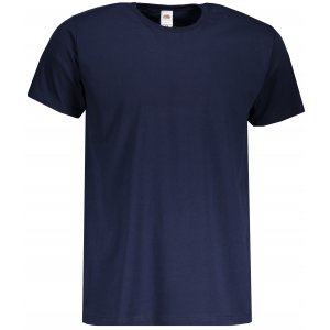 Pánské triko FRUIT OF THE LOOM VALUEWEIGHT T DEEP NAVY