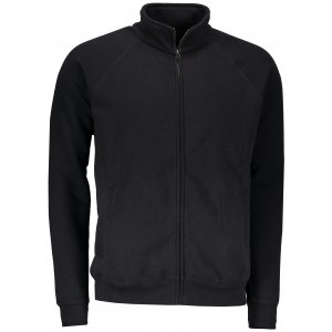 Pánská mikina FRUIT OF THE LOOM PREMIUM SWEAT JACKET BLACK