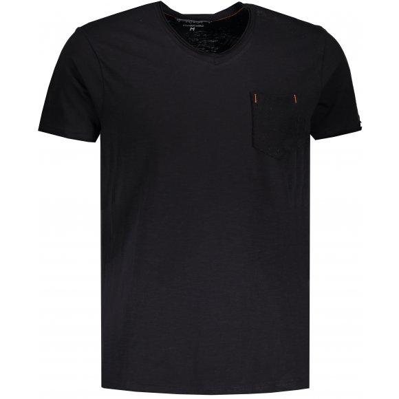 Pánské triko OMBRE AS1100 BLACK