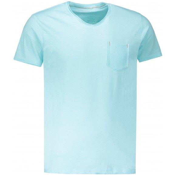 Pánské triko OMBRE AS1100 TURQUOISE