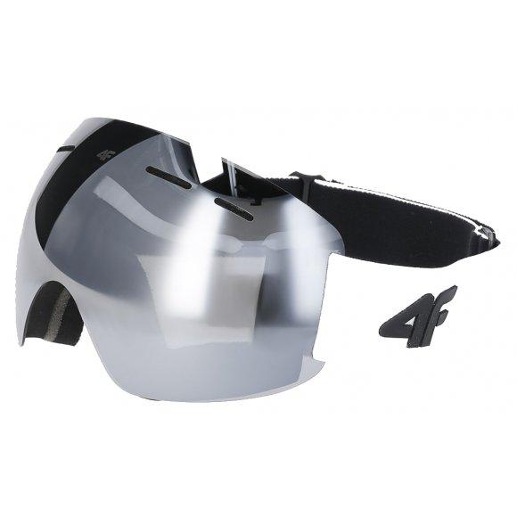 Lyžařské brýle 4F Z19-GGD350 WHITE