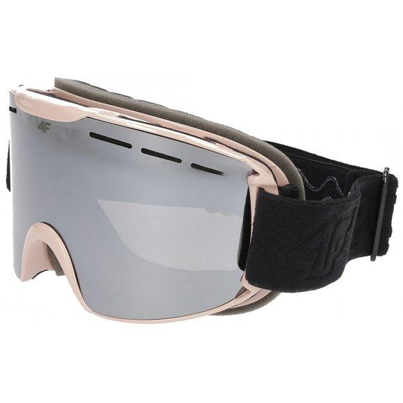 Lyžařské brýle 4F Z19-GGD251 LIGHT PINK