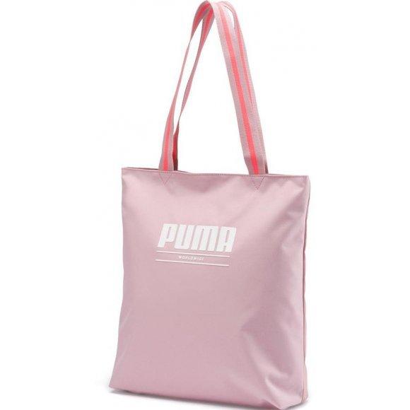 Dámská taška PUMA WMN CORE BASE SHOPPER 7657002 BRIDAL ROSE