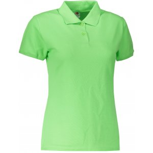 Dámské triko s límečkem FRUIT OF THE LOOM LADY-FIT PREMIUM POLO LIME