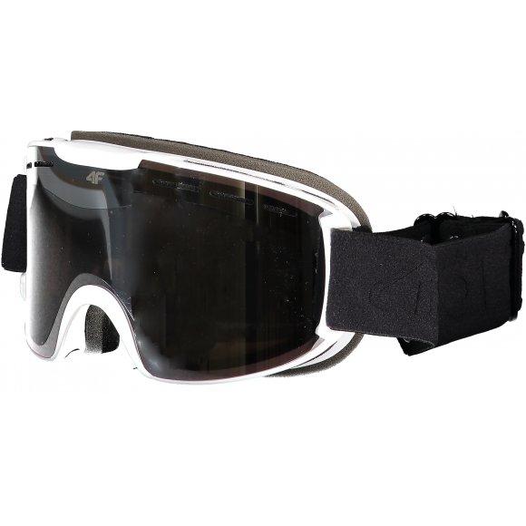 Lyžařské brýle 4F Z19-GGD251 WHITE