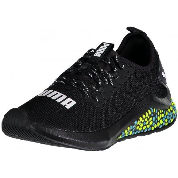 Pánské běžecké boty PUMA HYBRID NX 19225909 PUMA BLACK/YELLOW ALERT/BLUE