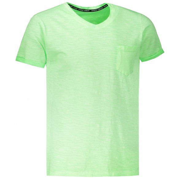 Pánské triko OMBRE AS1053 GREEN
