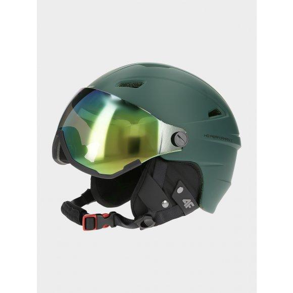 Lyžařská helma 4F Z19-KSM151 TEAL