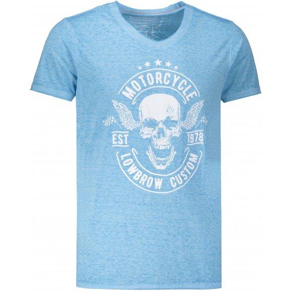 Pánské triko OMBRE AS1147 BLUE