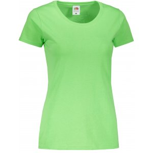 Dámské triko FRUIT OF THE LOOM LADY-FIT VALUEWEIGHT T LIME