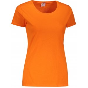 Dámské triko FRUIT OF THE LOOM ORIGINAL T ORANGE