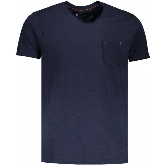 Pánské triko OMBRE AS1100 NAVY