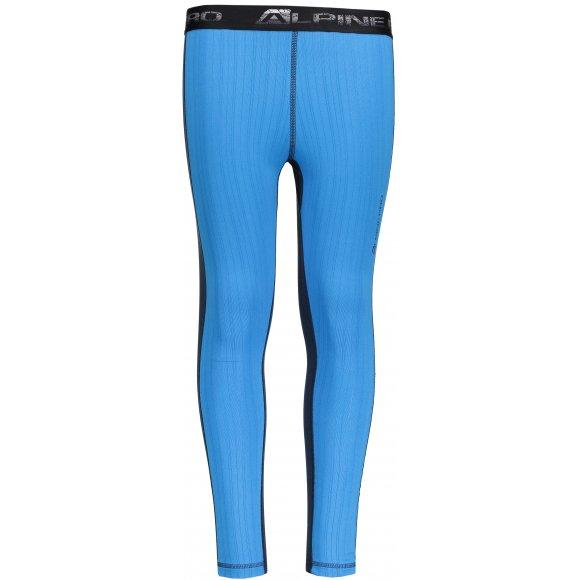 Dětské termo kalhoty ALPINE PRO SUSYO KUNP014 SVĚTLE MODRÁ