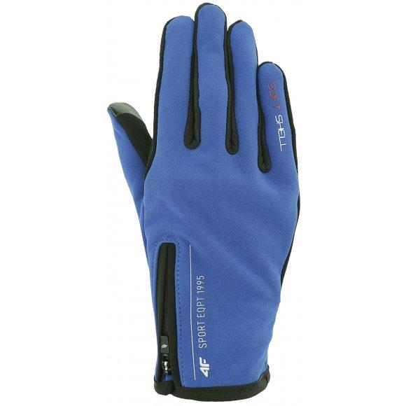 Softshellové rukavice 4F Z19-REU102 COBALT