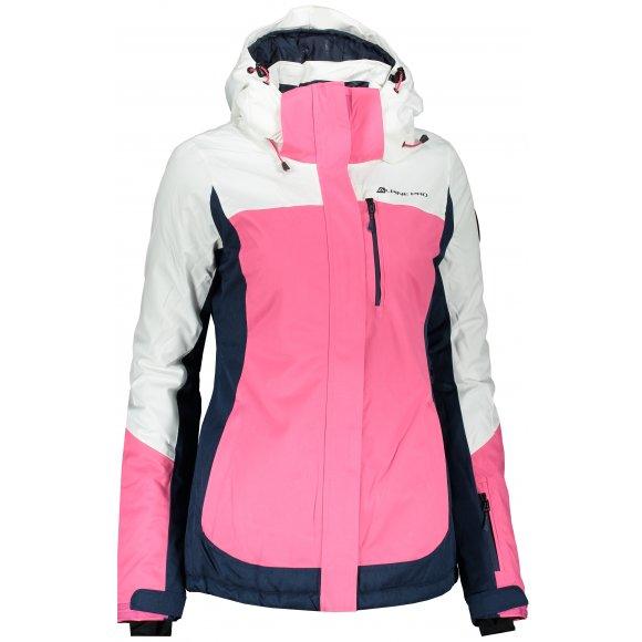 Dámská lyžařská bunda ALPINE PRO SARDARA 3 LJCP352 BÍLÁ