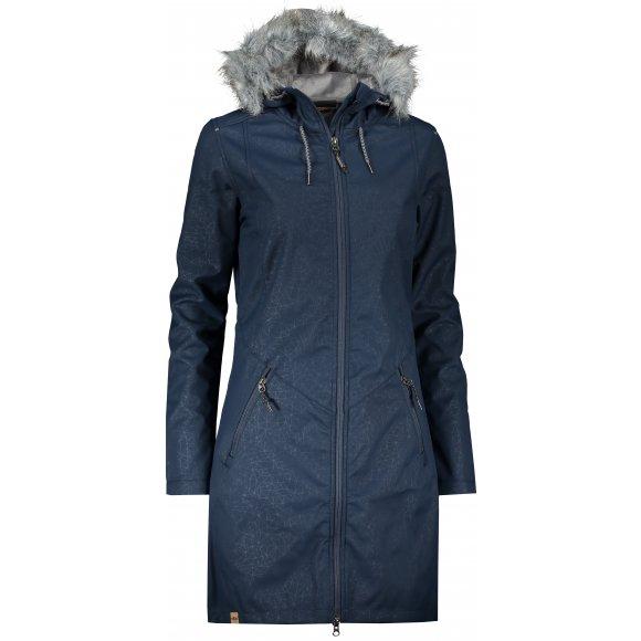 Dámský softshellový kabát ALPINE PRO PRISCILLA 4 INS. LCTP100 TMAVĚ MODRÁ