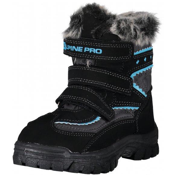 Dětské zimní boty ALPINE PRO ENTO KBTP214 ČERNÁ