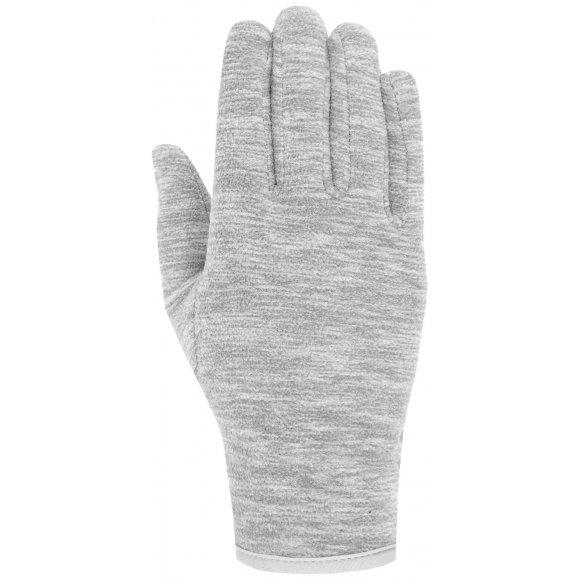 Fleecové rukavice 4F Z19-REU302 MIDDLE GREY MELANGE