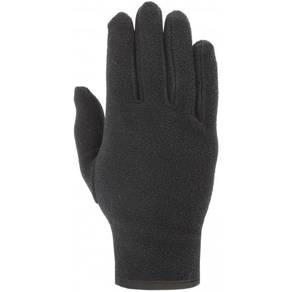 Fleecové rukavice 4F Z19-REU302 DEEP BLACK
