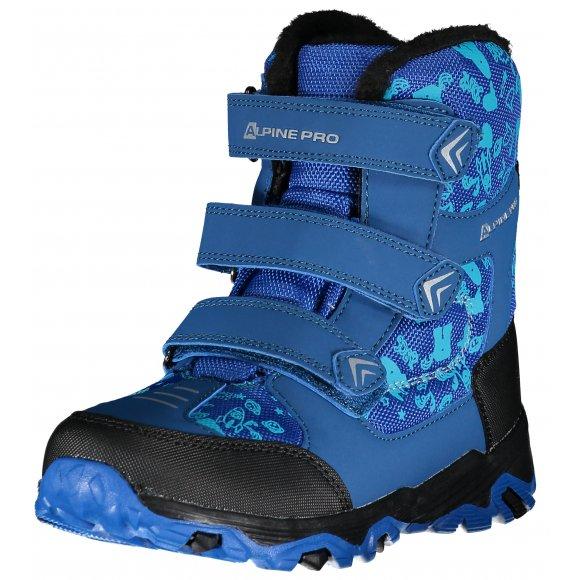 Dětské zimní boty ALPINE PRO GAILO KBTP212 MODRÁ