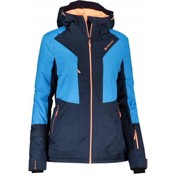 Dámská lyžařská bunda ALPINE PRO MIKAERA 3 LJCP351 TMAVĚ MODRÁ