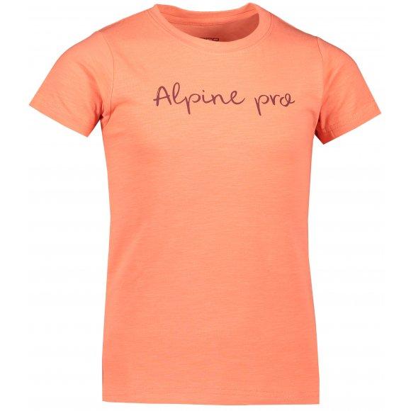 Dětské triko ALPINE PRO SANTOSO KTSP264 ORANŽOVÁ