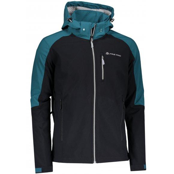 Pánská softshellová bunda ALPINE PRO NOOTK 5 MJCP357 ZELENÁ