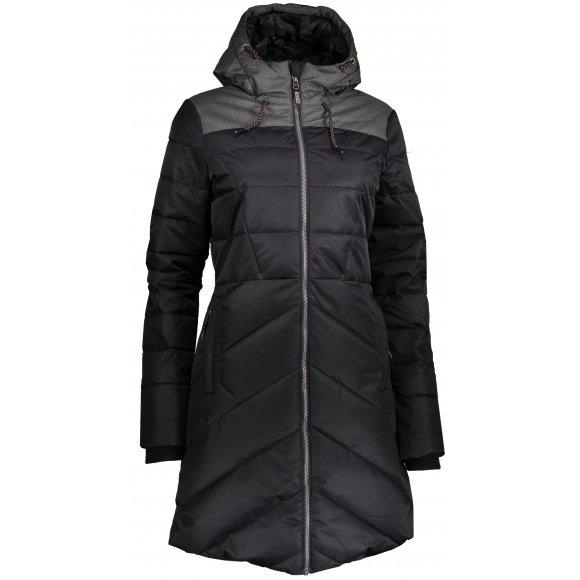 Dámský zimní kabát ALPINE PRO TESSA 3 LCTP098 ČERNÁ
