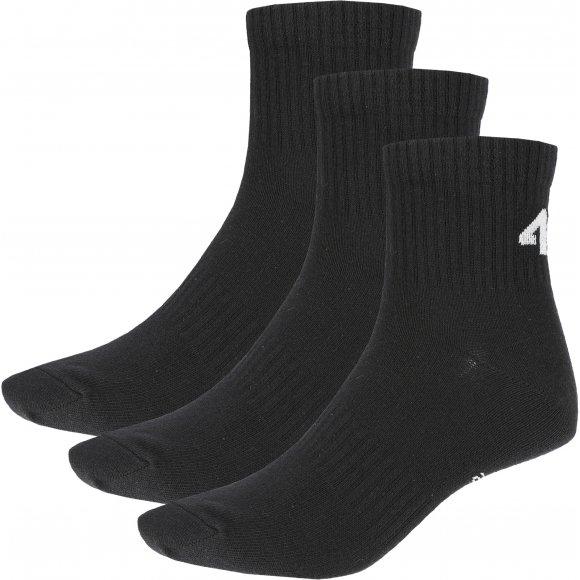 Ponožky 4F Z19-SOM302 DEEP BLACK/DEEP BLACK/DEEP BLACK