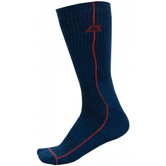 Ponožky ALPINE PRO BANFF 2 USCZ039 TMAVĚ MODRÁ