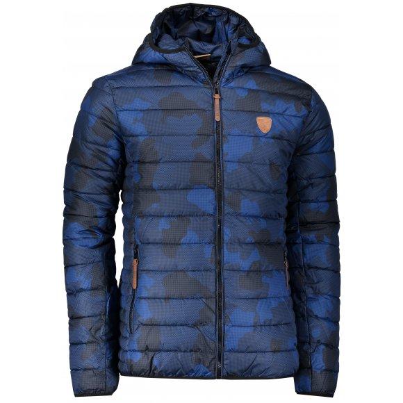 Pánská zimní bunda SAM 73 MB 742 TMAVĚ MODRÁ