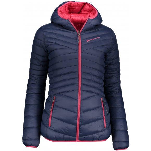 Dámská oboustranná zimní bunda ALPINE PRO MUNSRA 5 LJCP346 TMAVĚ MODRÁ