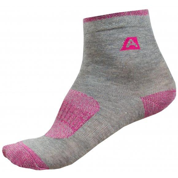 Dětské ponožky ALPINE PRO RAPID 2 KSCP010 RŮŽOVÁ