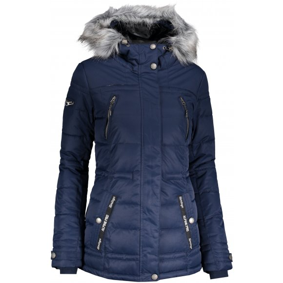 Dámská zimní bunda ALPINE PRO ICYBA 5 LJCP344 TMAVĚ MODRÁ