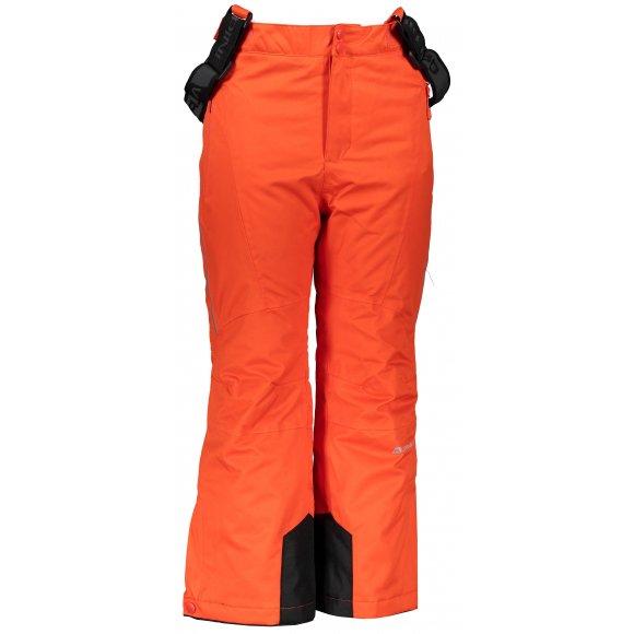 Dětské lyžařské kalhoty ALPINE PRO ANIKO 3 KPAP168 ORANŽOVÁ